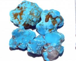 51.35 cts Castle dome Turquoise rough parcel   RG-3486