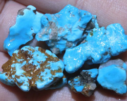 61.75 cts Castle dome Turquoise rough parcel   RG-3498