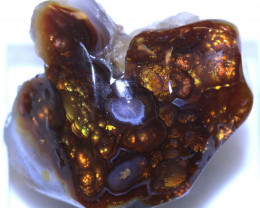 108.45 carats   Fire Agate Rough  ANGC 796