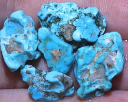 41.95 cts Castle dome Turquoise rough parcel   RG-3515