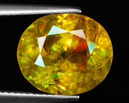 9.34 Ct Mind Blowing Fire   Cts Chrome Sphene ~ SH2