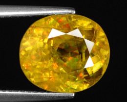 7.90Ct Mind Blowing Fire   Cts Chrome Sphene ~ SH4