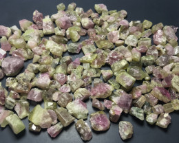 640 Carats Watermelon Rough Tourmaline
