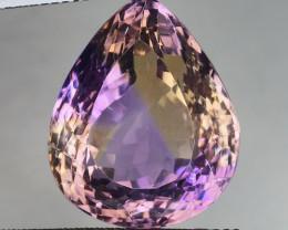 21.75 Ct Natural Ametrine Top Cutting Top Luster Gemstone. AM 05