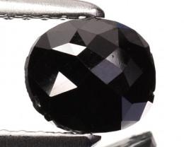 Fantastic Rose Cut 0.84Ct Natural Black Diamond
