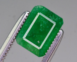 Amazing Color 1.35 Ct Natural Emerald from Swat