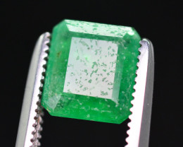 Beautiful Color 1.10 Ct Natural Emerald From Swat