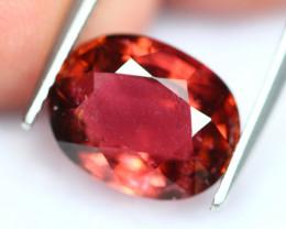 Rubellite 4.26Ct Natural Red Rubellite Tourmaline E0604
