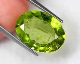 6.47cts Natural Apple Green Colour Peridot / C27