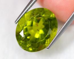 8.01cts Natural Apple Green Colour Peridot / C30