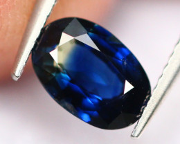 BiColor Sapphire 0.54Ct Traditional Heated BiColor Sapphire A0709