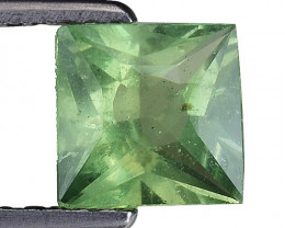 1.09 Ct Green Apatite Good Quality Gemstone. AP 10