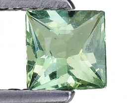 0.51 Ct Green Apatite Good Quality Gemstone. AP 18