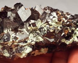 Lovely Garnet Cluster specimen have good luster 555Cts - Afghanistan