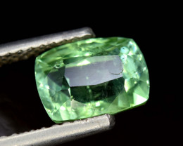 4.20 Carats Mint Green Color Natural Tourmaline Gemstone