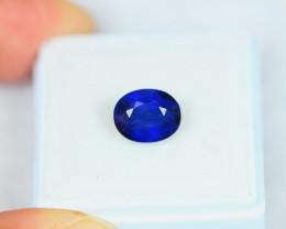 2.85ct Blue Sapphire Oval Cut Lot V3758