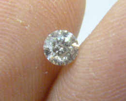 0.32ct  I-I1 Diamond , 100% Natural Untreated