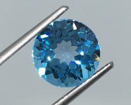 3.5 Carat VVS Topaz Bahama Blue Brazilian Beauty !