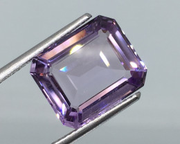 5.25 Carat VVS Amethyst Octagon Exquisite Clarity and Quality !