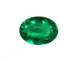 2.21 ct Majestic Zambian Emerald Certified!