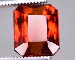 Brilliant Color 3.75 Ct Natural Hessonite Garnet