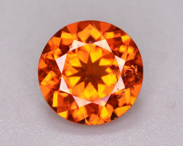 1.60 Ct Natural Orange Color Spessartite Garnet Gemstone