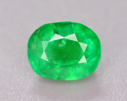 AAA Color 0.55 Ct Natural Emerald From Swat