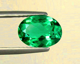 1.75 ct Top Of The Line Zambian Emerald Certified!