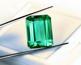 0.82 ct Natural Zambian Emerald Certified Top Stone!