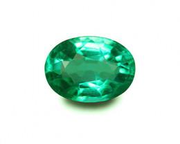 0.95 ct Top Natural Zambian Emerald!