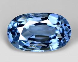 1.11 Ct Natural Bluish Spinel Sparkiling Luster Gemstone. SP 20