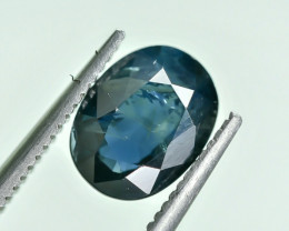 2.02 Crt GIL Certified Sapphire Faceted Gemstone.( AG 27)