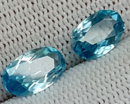 3.45CT BLUE ZIRCON BEST QUALITY GEMSTONE IGC78