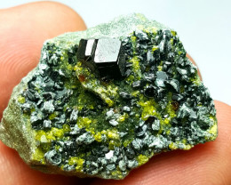 Lovely Garnet combine with Epidote and Black mica 75 Cts - Afghan