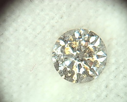 0.44ct J-I1  Diamond , 100% Natural Untreated