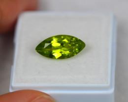 3.30ct Green Peridot Marquise Cut Lot Z116