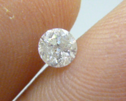 0.46ct I-I1 Diamond , 100% Natural Untreated