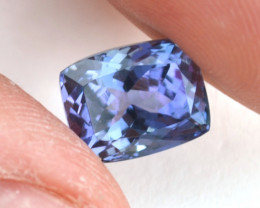 7.12 Carat Beautiful Tricolored Certified Tanzanite - Price Drop!!!
