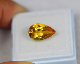 3.52Ct Yellow Citrine Pear Cut Lot LZ2401