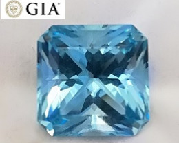 19.85 ct GIA Aquamarine - Santa Maria, Brazil $20,000