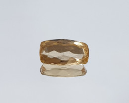 Imperial Topaz  0.9ct  8.8x4.7x2.5 Long Cushion(SKU 71)