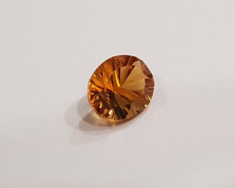Certified Citrine 1.61 carats Fantasy Cut #cit2