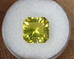 8,94ct Lemon quartz - Master cut!