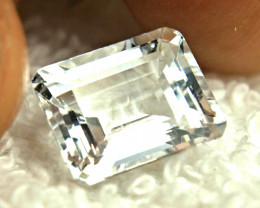 5.4 Carat White VVS Brazil White Goshenite Beryl - Gorgeous