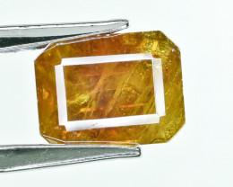 18.08 Crt AIG Certified Sphalerite Faceted Gemstone