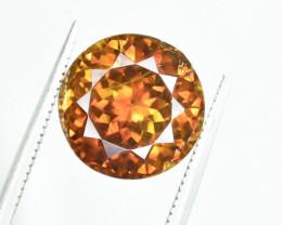 8.59 Crt AIG Certified Sphalerite Faceted Gemstone