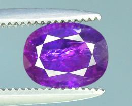 1.10 ct Untreated Corundum Kashmir Sapphire