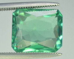 6.30 Ct Green Spodumene Gemstone From Afghanistan