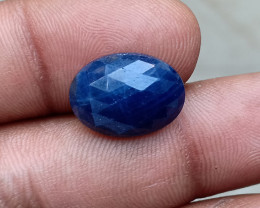 GENUINE BLUE SAPPHIRE ROSE CUT GEMSTONE NATURAL+UNTREATED VA4198