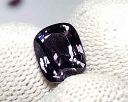 UNTREATED 2.54 CTS NATURAL STUNNING VVS PURPLISH GRAY SPINEL BURMA